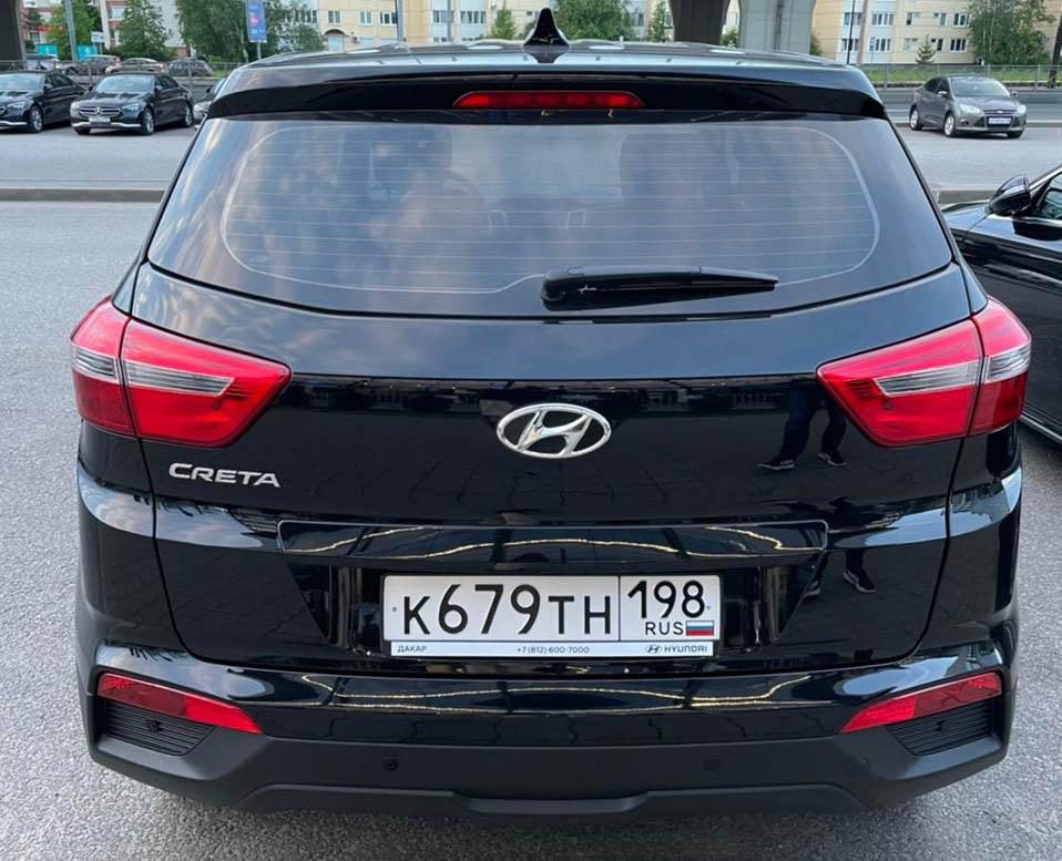 Hyundai Creta салон внутри Аренда в Симферополе TakeCars